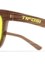 Swank, Woodgrain Single Lens Sunglasses - Smoke Yellow