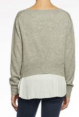 BROCHU WALKER The Plisse Pullover