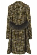 SEVENTY The A - Line Tweed Coat