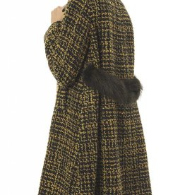 SEVENTY The A - Line Tweed Coat