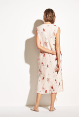 VINCE RTW The Tossed Poppy Pleated Dress