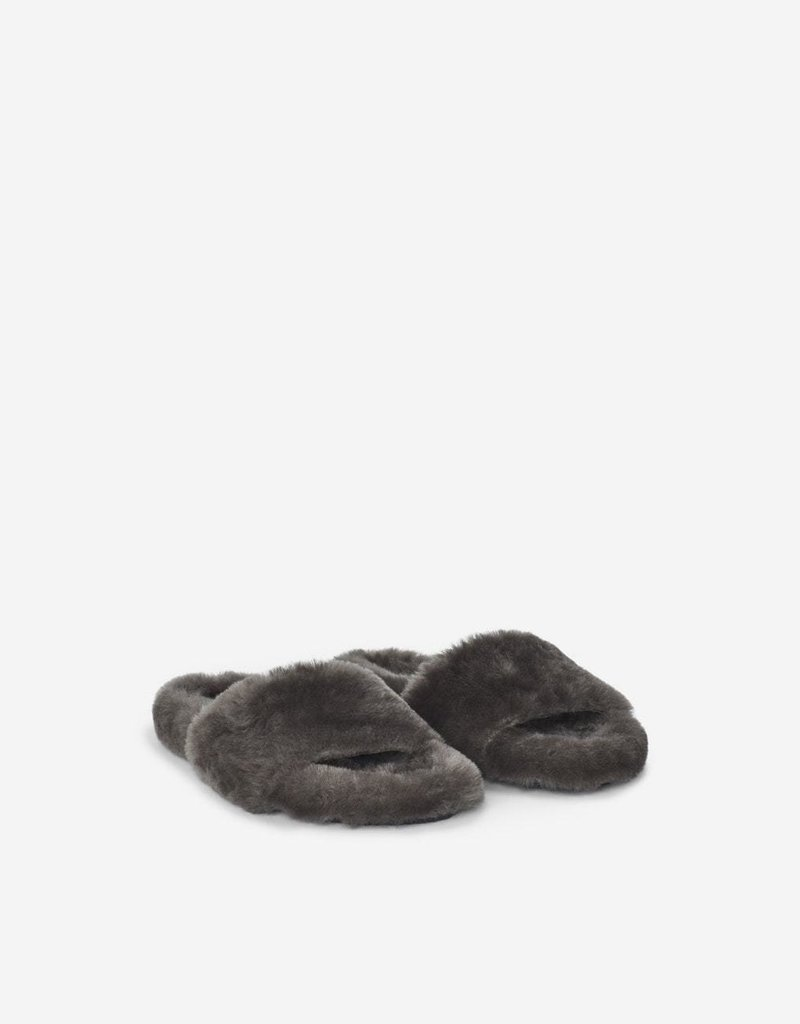 FILIPPA K The Logan Fur Sandal