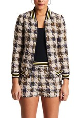 The Sparkle Houndstooth Jacket