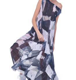 NORMA KAMALI The Drop Shoulder Long Dress