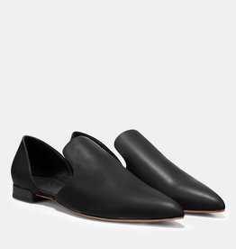 VINCE FOOTWEAR The Damris Leather Flat
