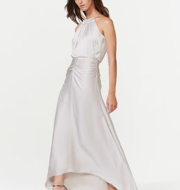 The Ruched Satin Gown