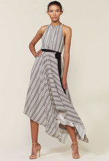 The Strip Back Striped Gown