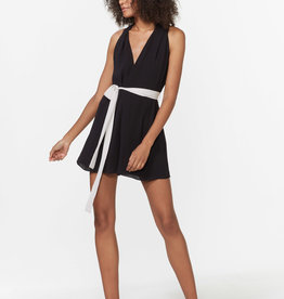 The Romper W/ Contrast Sash