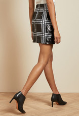 TED BAKER The Hoops Sequin Skirt