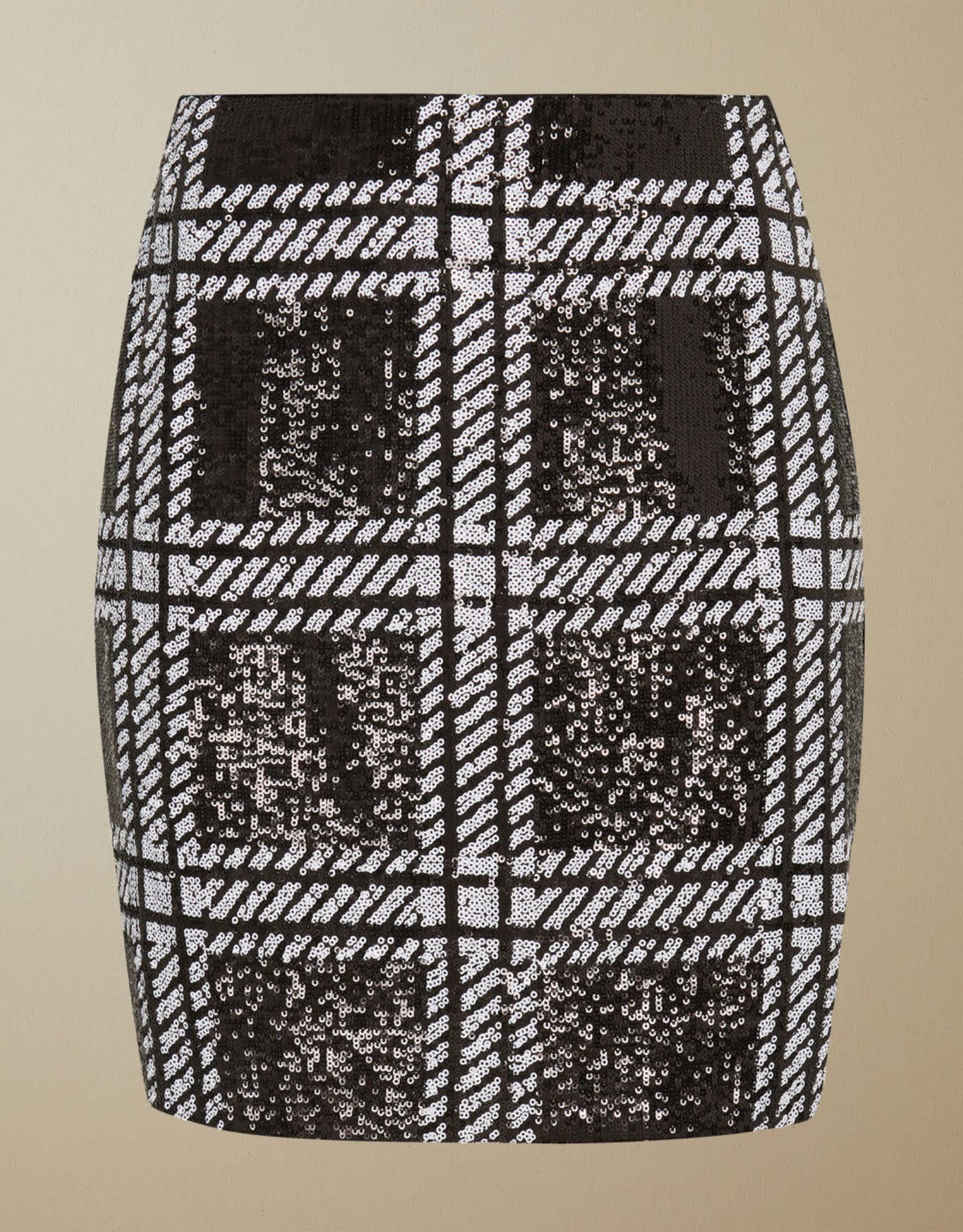 TED BAKER The Hoops Sequin Skirt