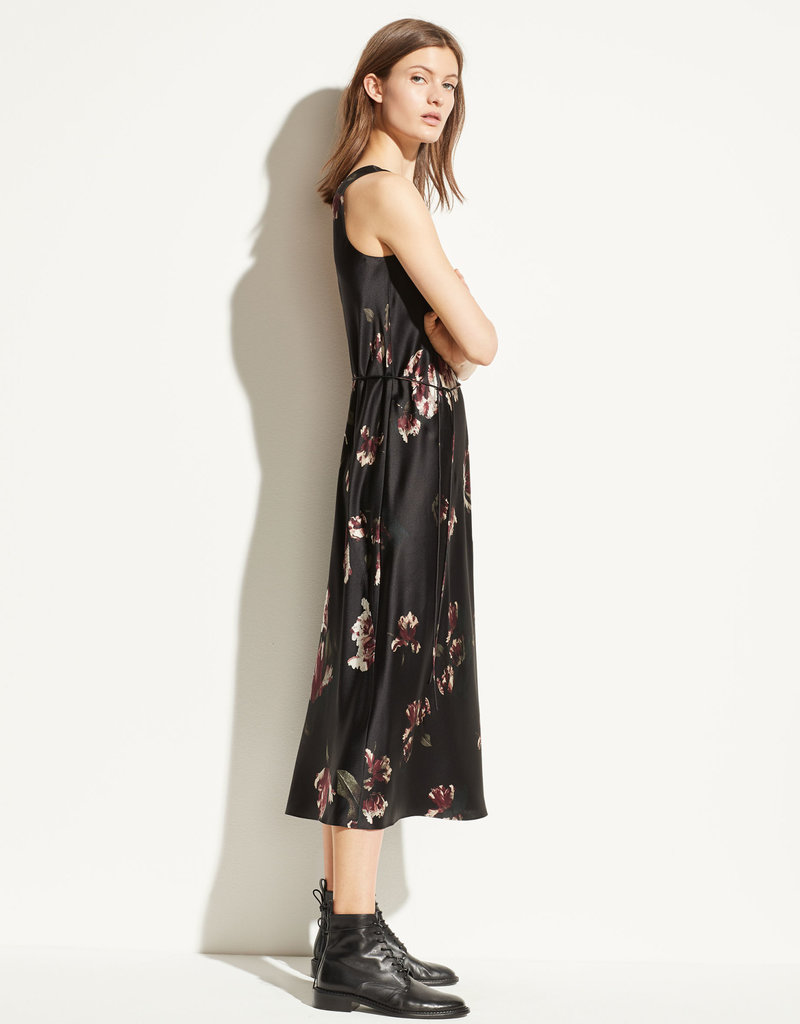 VINCE RTW The Mixed Tulip Print Dress