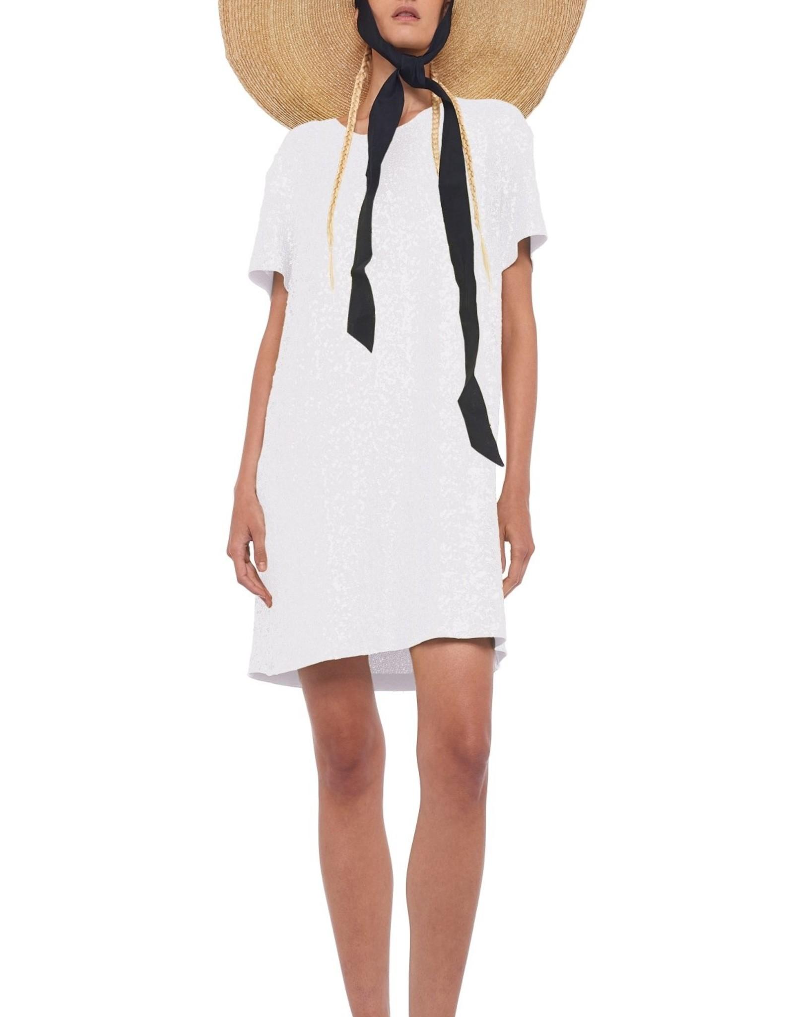 NORMA KAMALI The Sequin Boxy Dress