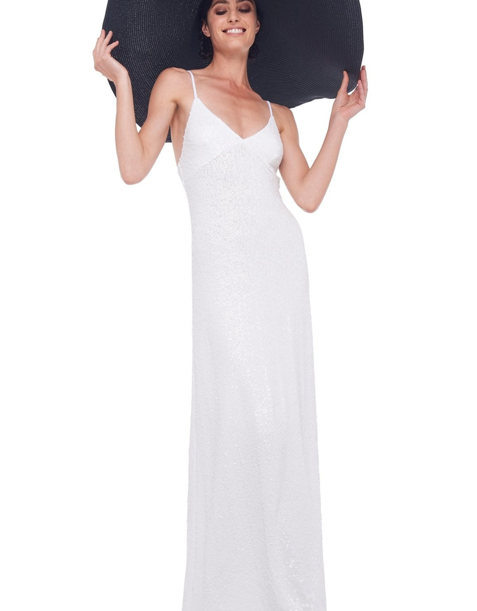 NORMA KAMALI The Sequin Slip Gown