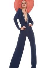 NORMA KAMALI The Dolman Wrap Jumpsuit