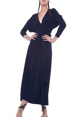 NORMA KAMALI The Dolman Wrap Flared Dress