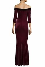 NORMA KAMALI The Velvet Fishtail Gown
