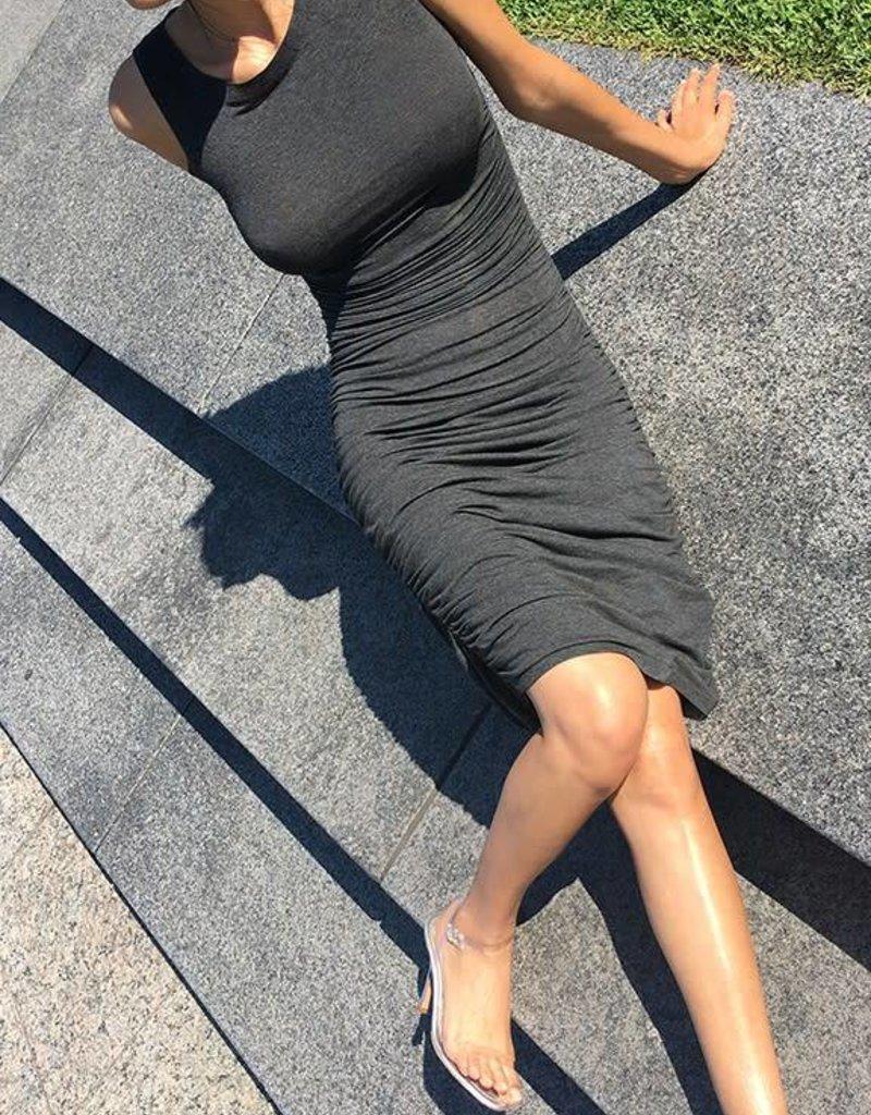 NORMA KAMALI The Shirred Dress