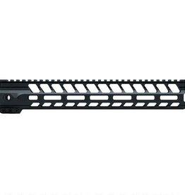 """LanTac USA LLC LANTAC USA SPADA-M AR-15 Free Float Handguard 12.5"""" M-LOK Aluminum Black 01-HG-012-SPADA-M"""