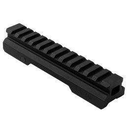 """NCStar NcSTAR 0.75"""" Gen 2 Picatinny Rail Riser 5.2"""" Length Aluminum Black MARFV2"""