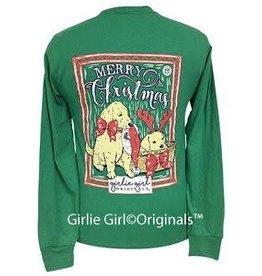 Girlie Girl Girlie Girl Merry Christmas LS T-Shirt Size 3XLarge