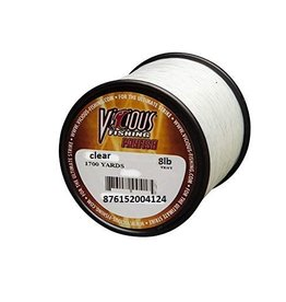 Vicious VICIOUS PANFISH FISHIN LINE CLEAR 8 LB TEXT 1700 YARDS PCLQ8