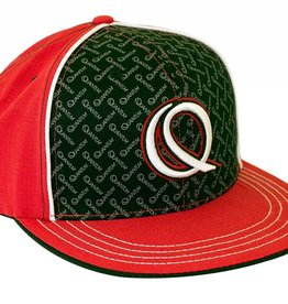 Quantum QUANTUM® FLAT BILL HAT-red/blk