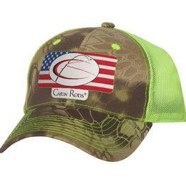Cajun Cajun Rods® Trucker Hat (Kryptek/Neon Green)