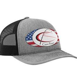 Cajun Cajun Rods® Trucker Hat (Grey/Black)