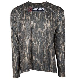 Heybo Outdoors Heybo Bottomland Pursuit Performance L/S  Tee 3X-Large