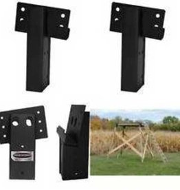 Summit Outdoors Summit Outdoors Elevators E1088 4x4 Compound Angle Brackets for Hunting Blinds