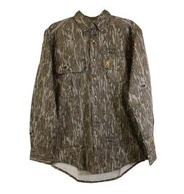 Browning Browning WASATCH-CB Button Up LS Shirt size 2XL Men's
