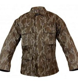 Mossy Oak Mossy Oak  Mens Bottom Land Camo Jacket Large