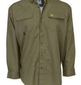 Heybo Outdoors Heybo THE BOCA GRANDE L/S FISHING -olive-small