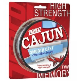 ZEBCO CORP. ZEBCO CAJUN SMOOTH CAST CLEAR BLUE BAYOU 6 LBS  330 YDS FISHING LINE CLCASTF6C