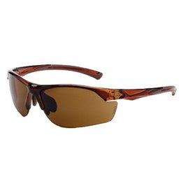 Crossfire RADIANS CrossFire Safety Glasses - Brown Frame /Lens