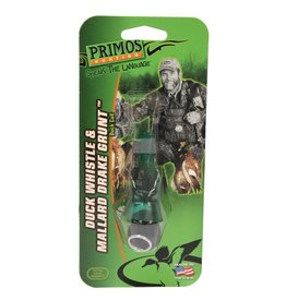 PRIMOS HUNTING PRIMOS PS813 WHISTLE/MALLARD DRAKE GRNT