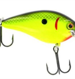 Strike King STRIKE KING Black Back Chartreuse KVD 1.5 SQUARE BILL Fishing Lure HCKVDS1.5-535