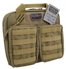 G-Outdoors, Inc. GPS Double Pistol Case Tan GPS-T1411PCT