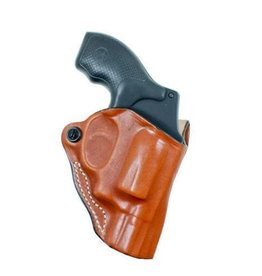 DESANTIS GUNHIDE Mini Scabbard Belt Holster Tan FitA: S&W J Frame 2-2 1/4, Right h
