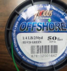 Vicious Vicious Offshore- 50 LB 250 Yd Fishing Line