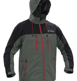 Absolute Outdoors Absolute Outdoors Onyx Jacket Grey Large 501300-701-040-16 STR Rain