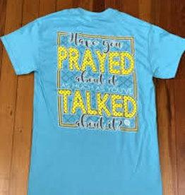 Girlie Girl GIRLIE GIRL Prayed About It Short Sleeve Tshirt Women's XXXLarge
