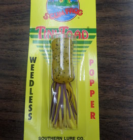 SOUTHERN LURE CO. Scumfrog Tinytoad Popper-Pumpkin seed