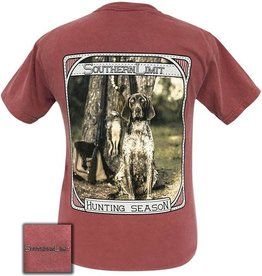 Girlie Girl SOUTHERN LIMIT HUNTING SEASON BURGANDY SHIRT SIZE MEDIUM Men's