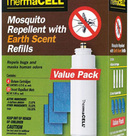 THERMACELL / THERMASCENT Thermacell E4 Mosquito Repellent with Earth Scent Refill Pack
