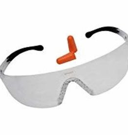 Birchwood Casey BIR 43401 LYCUS SHOOTING GLASSES W/EARPLUGS