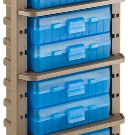 MTM MOLDED PRODUCTS MTM Case-Gard Ammo Rack with Eight 9mm Handgun Ammo Boxes