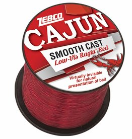Cajun Line CAJUN LOW-VIS RAGIN' RED Fishing Line 14lb-850yd 1/4LB SPOOL #CLLOWVISQ14C
