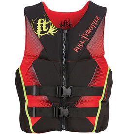 Full Throttle FULL THROTTLE VEST RAPID DRY FLEX RED L