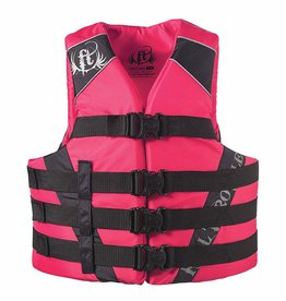 "Full Throttle FULL THROTTLE SPORTS VEST NYLON PINK WOMEN S/M 32-40""CHEST"